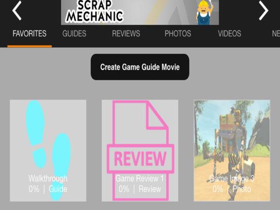 Game Guru - Scrap Mechanic Version iPad Screenshot 3