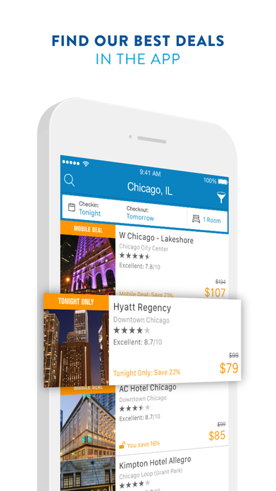 Priceline updated its Priceline Hotels, Flights and Cars iPhone app, optimizing it for iOS 7.