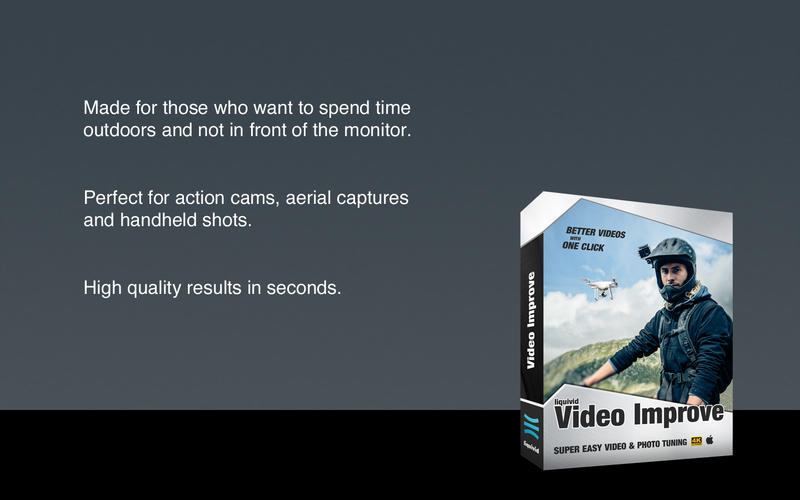 Liquivid Video Improve Mac 破解版 影视后期编辑应用-麦氪派