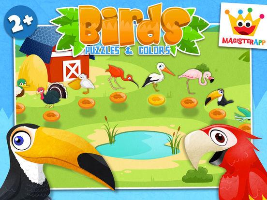 игры для малышей и детей: Животные пазлы