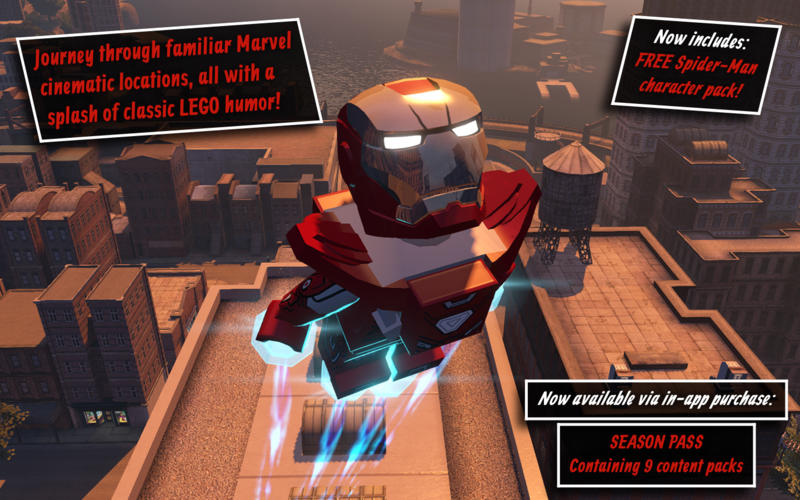 LEGO Marvel's Avengers For Mac Has First Ever Price Drop