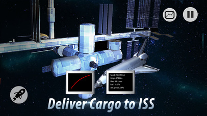 Space Shuttle Pilot Simulator 3D Full screenshot 3