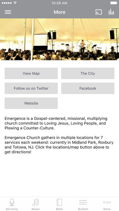EmergenceNJ iPhone Screenshot 3