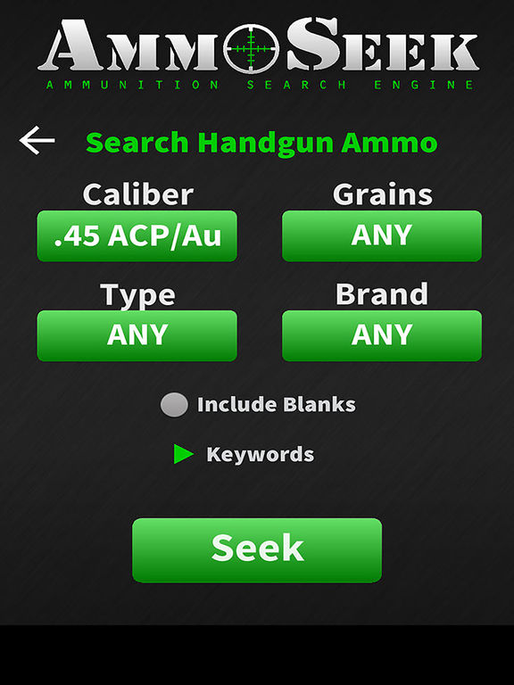 ‎AmmoSeek - Ammo Search Engine on the App Store