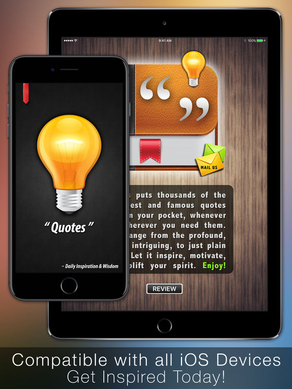 【体会人生】名人名言 Quotes: Daily Inspiration & Wisdom with Lock Screen Wallpapers (iOS 5 Edition)