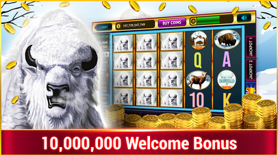 Screenshot 1 White Buffalo slots :Free Vegas Casino Slots