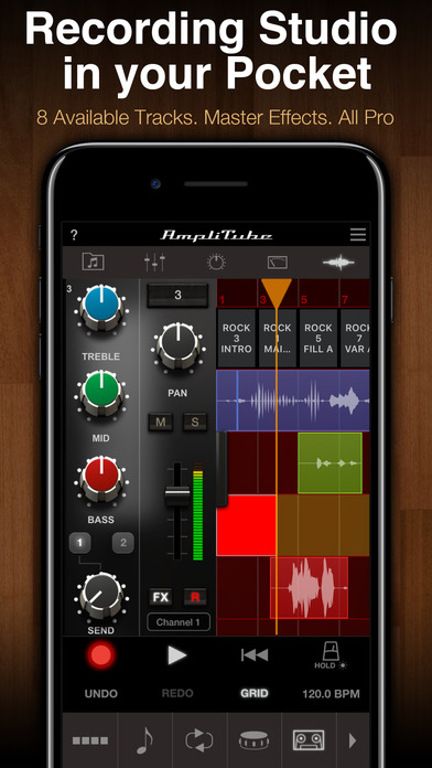 AmpliTube LE Screenshots