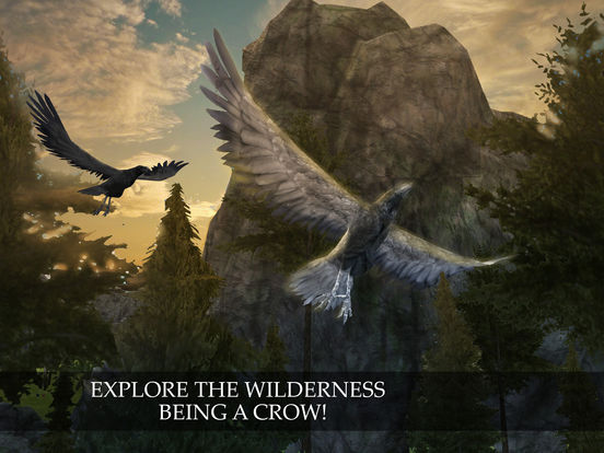 Flying Crow Bird Simulator screenshot 5
