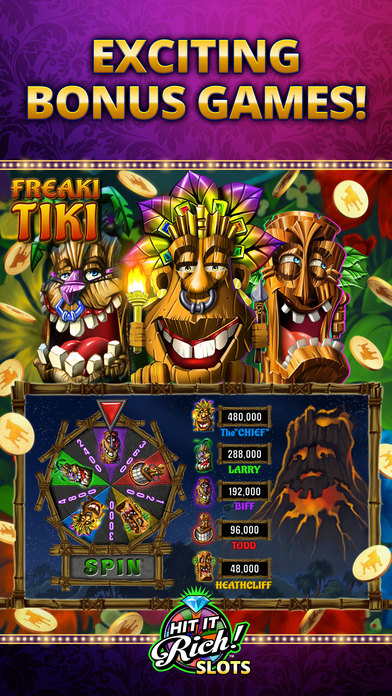 Hit it Rich! Casino Slots - Slot Machines iPhone