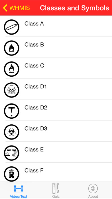 WHMIS Training Course and Reference iPhone Screenshot 3