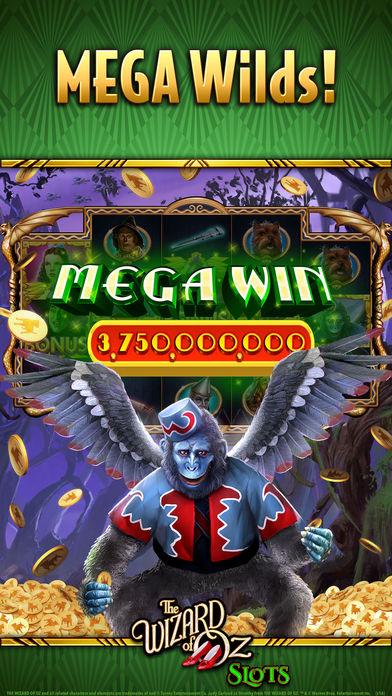 Wizard of oz slot machine iphone app