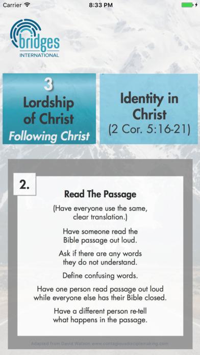 PODS Bible Study app image