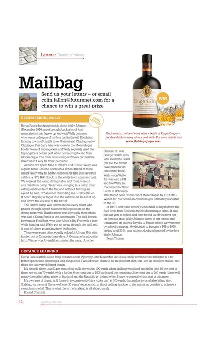 Sporting Rifle Magazine iPhone Screenshot 3