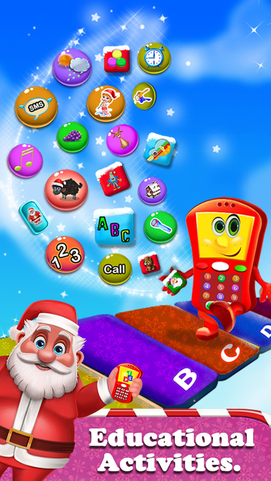 My Sweet Baby Christmas Phone screenshot 1