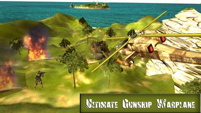 Ultimate Gunship Warplane: Real Jet Attack screenshot 2