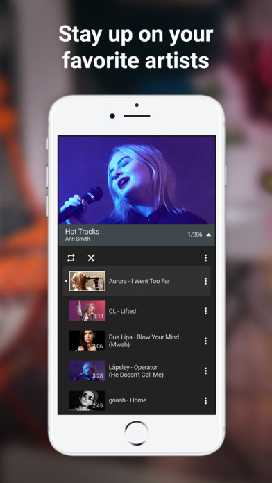 Screenshot of YouTube - Watch Videos, Music, and Live Clips App
