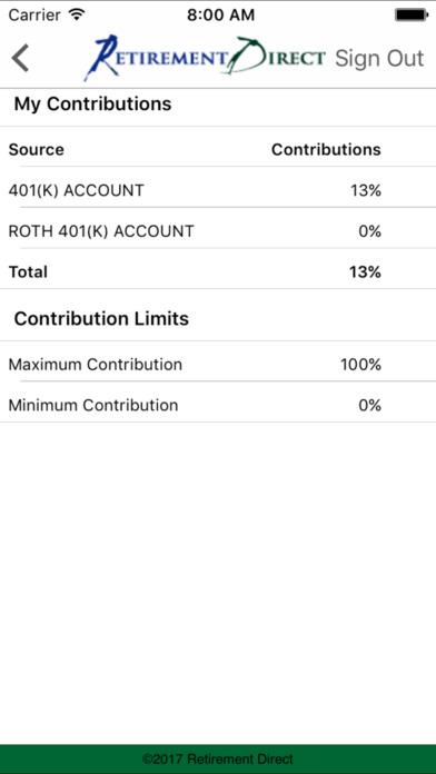 Retirement Direct iPhone Screenshot 4