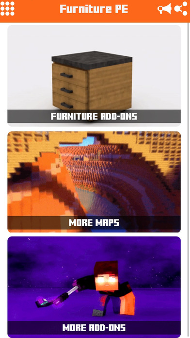 Furniture Add ons for Minecraft PE: Pocked Edition Apps free for iPhone/iPad screenshot