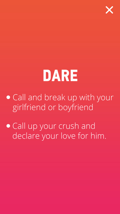 Truth or Dare - Free Houseparty Dirty Party Game Apps free for iPhone/iPad screenshot