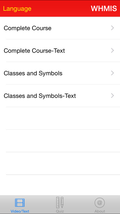 WHMIS Training Course and Reference iPhone Screenshot 4