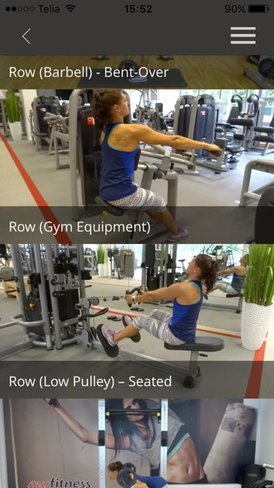 Gym Exercises Training Butt Leg Fitness Workout Screenshots