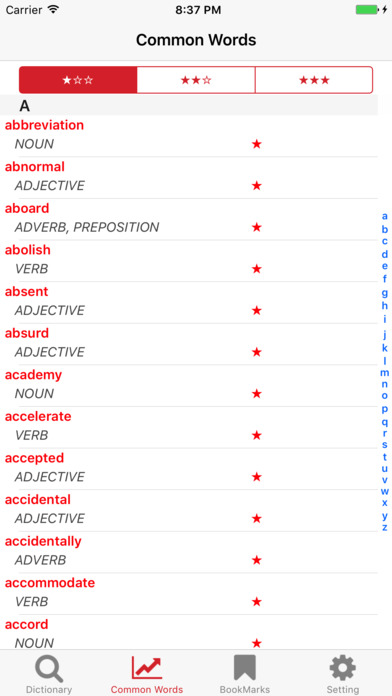 Screenshot for Dictionary for Advanced Learners - British English in United States App Store