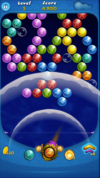 Screenshot 2 Bubbles Happy Shooter