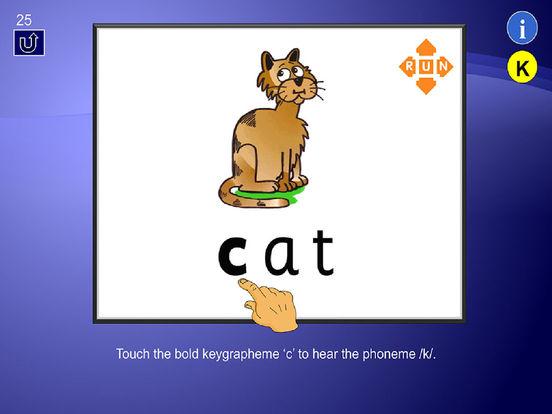 English Phonics Test - Learner User Guide iPad Screenshot 3