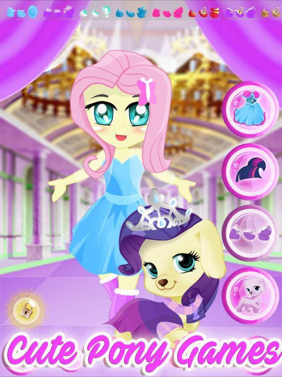 Pony Pet Friendship Dress Up Games screenshot 5