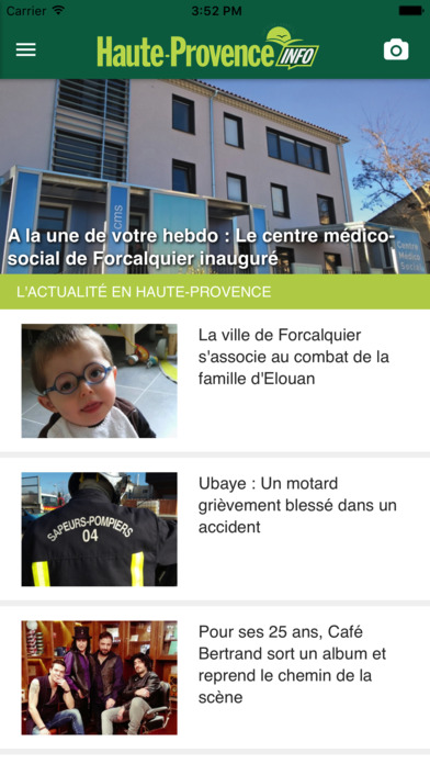 Haute Provence Info iPhone Screenshot 1