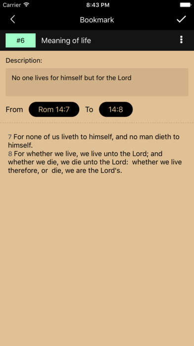 MyBible Apps free for iPhone/iPad screenshot