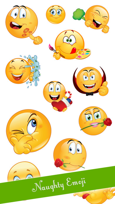 Dirty smiley emoticons