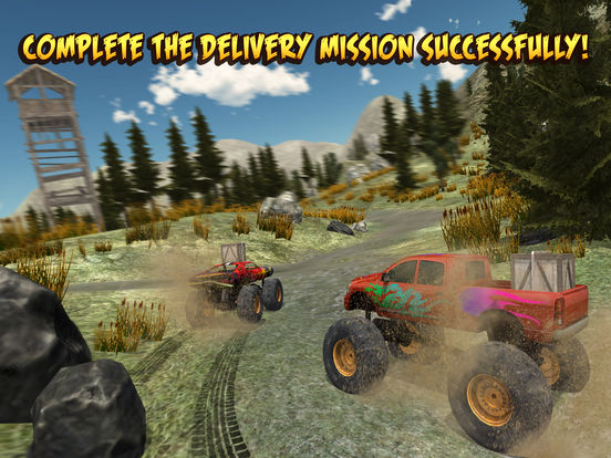4x4 Monster Truck Racing для iPad