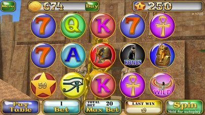 Screenshot 1 Slots Egyptian Pharaoh