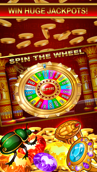 Screenshot 3 Slots — Egypt Casino Jackpot Deluxe