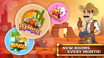 Screenshot 2 BINGO! — Cowboy Wild-West Showdown Story Card Game