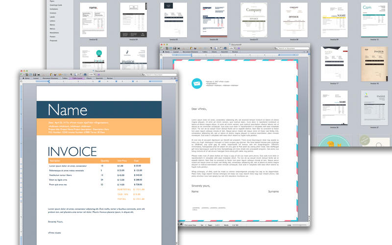 Templates for MS Word - Xpert Designs Screenshot