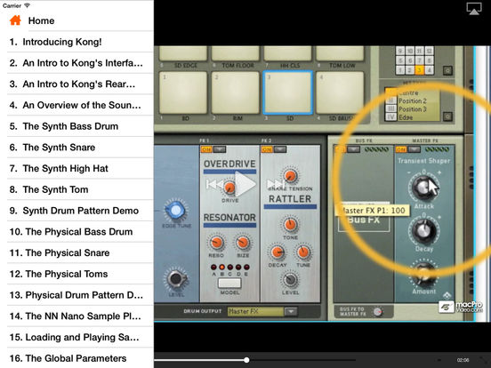 KONG: King of Drums 101 iPad Screenshot 2