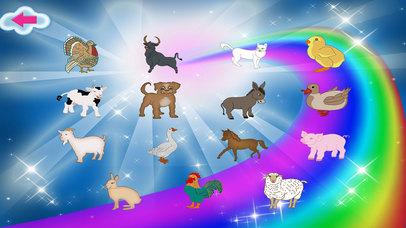 Animals Match Memory Cards Farm Game screenshot 2