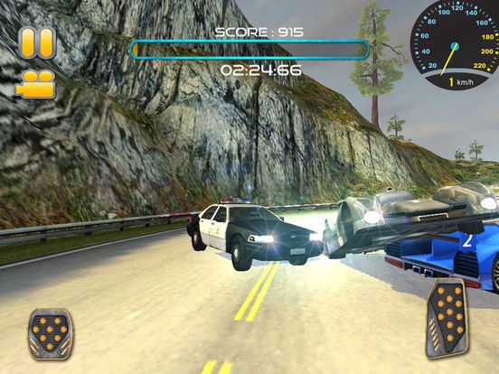 Police Car Chase:Off Road Hill Racing screenshot 7