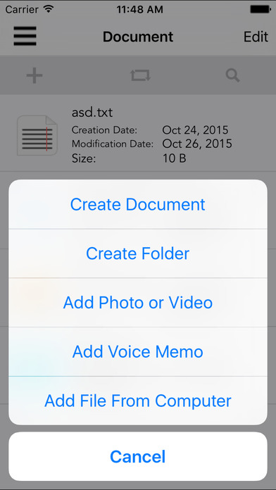File Manager PRO (Document Manager & Explorer) Screenshots