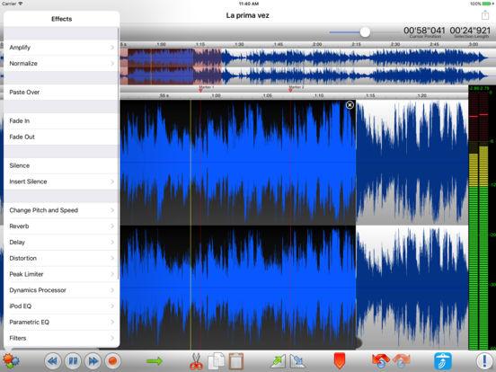TwistedWave Audio Editor Screenshots