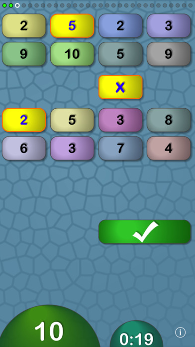 FlowMath (multiplication, division, addition, and subtraction math builder) iPhone Screenshot 4