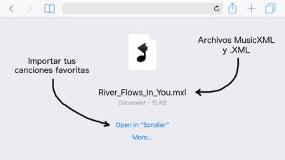 Screenshot for Scroller: Partituras MusicXML in Peru App Store