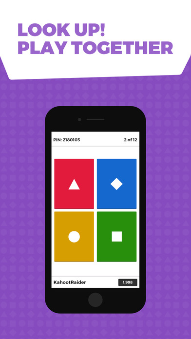 Kahoot! Play Fun Learning Games iPhone Screenshot 2