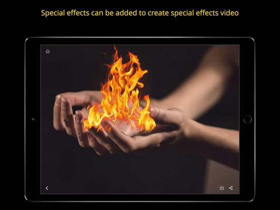 Screenshot #1 for Anime FX - Add Super Effects to Video & Movie