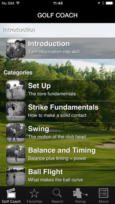 Everyday Golf Coach iPhone Screenshot 3