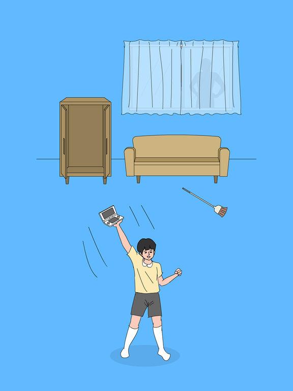Спрятанная игра мамой 2 - Побег игры для iPad