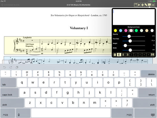 iGigBook sheet music manager iPad Screenshot 2