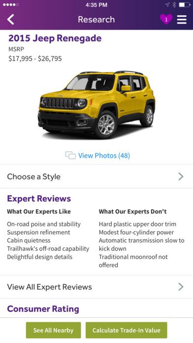 Cars.com iPhone Screenshot 2